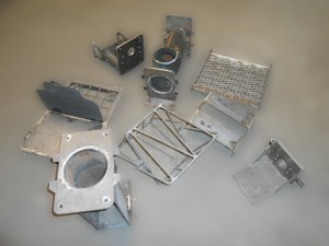 All pump parts are fabricated on site